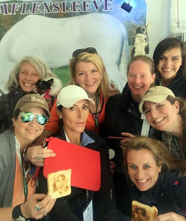 What a great #selfie with Eventing Nation!  Even the Chincilla made it!